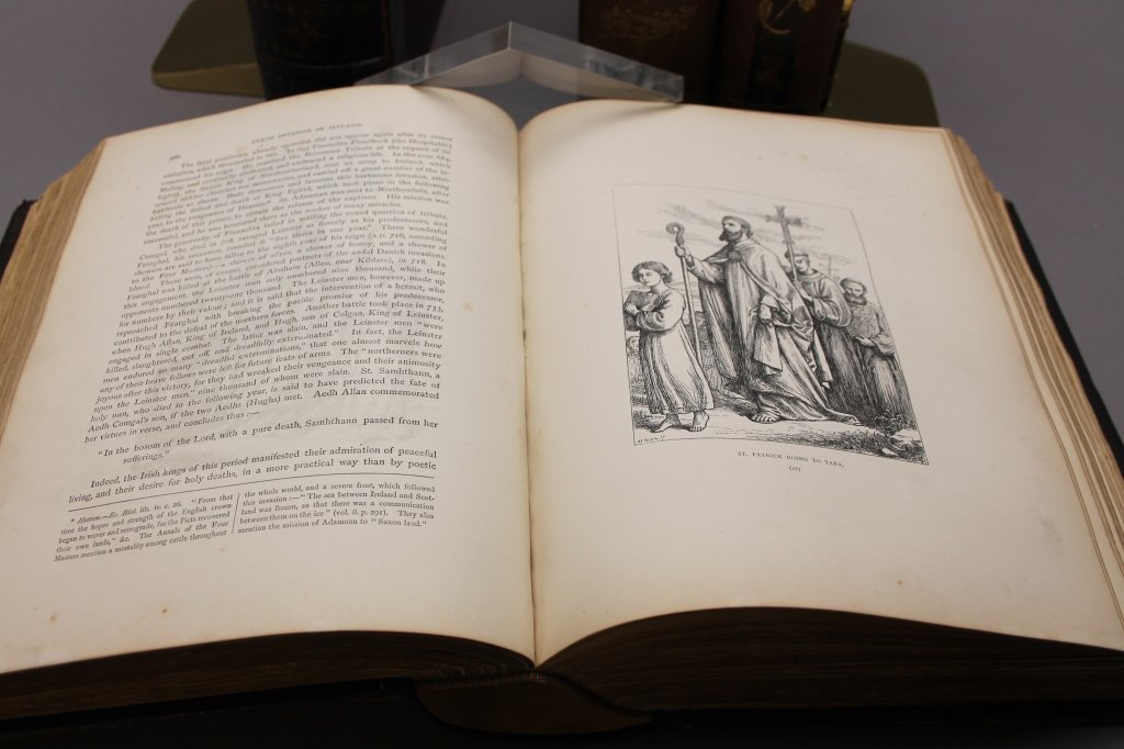4 Books: Cusack, HISTORY OF IRISH NATION, Haverty - 2