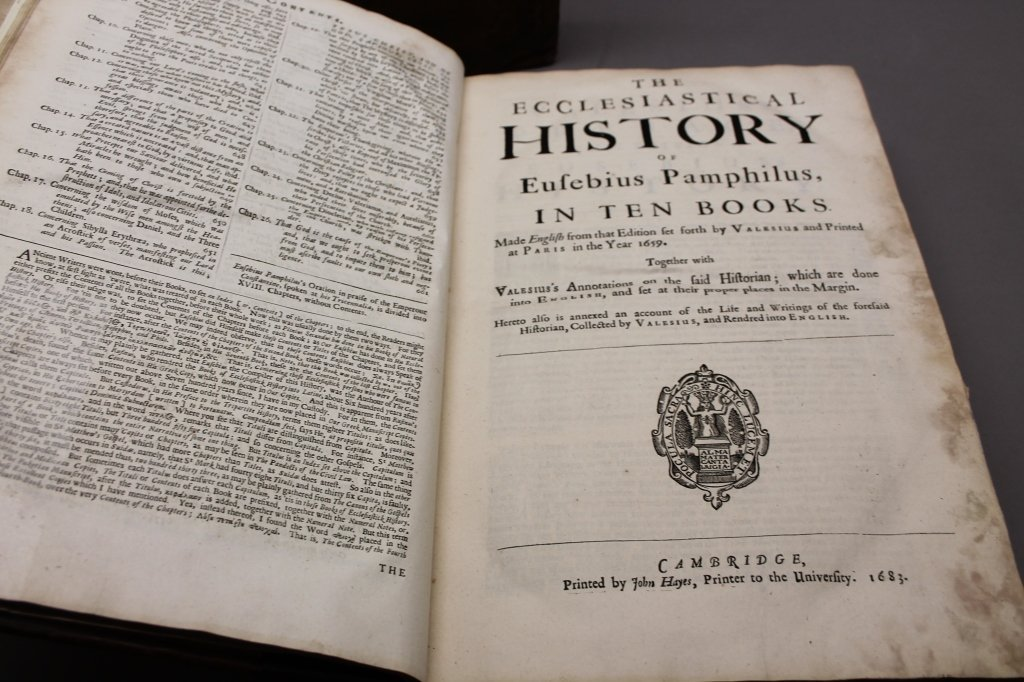 THE HISTORY OF THE CHURCH... Cambridge: 1683. - 10