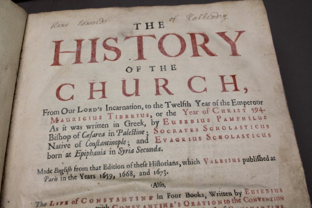 THE HISTORY OF THE CHURCH... Cambridge: 1683. - 9