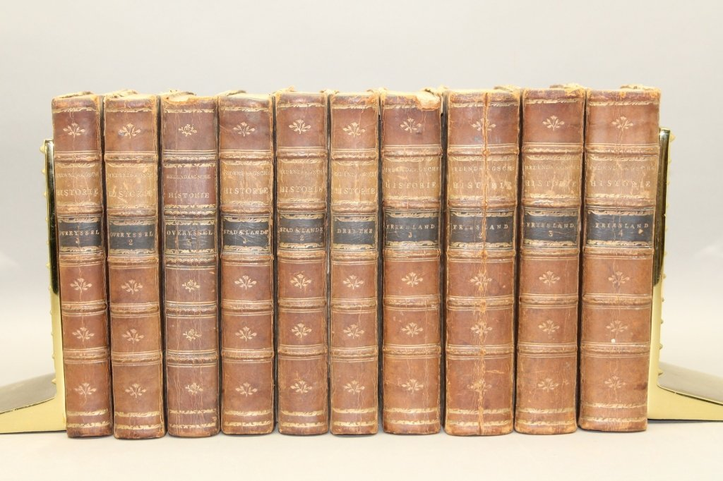 12 Parts in 10 Vols: Netherlands. 1785-1794, 1801.