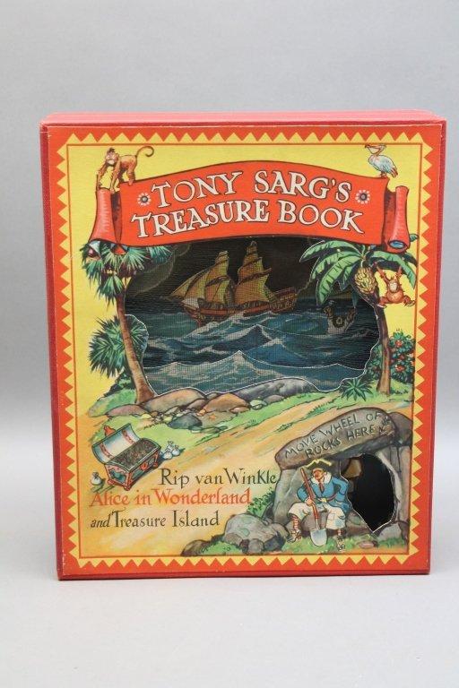 2 TONY SARG'S Books w/ TREASURE BOOK. (1942). - 2