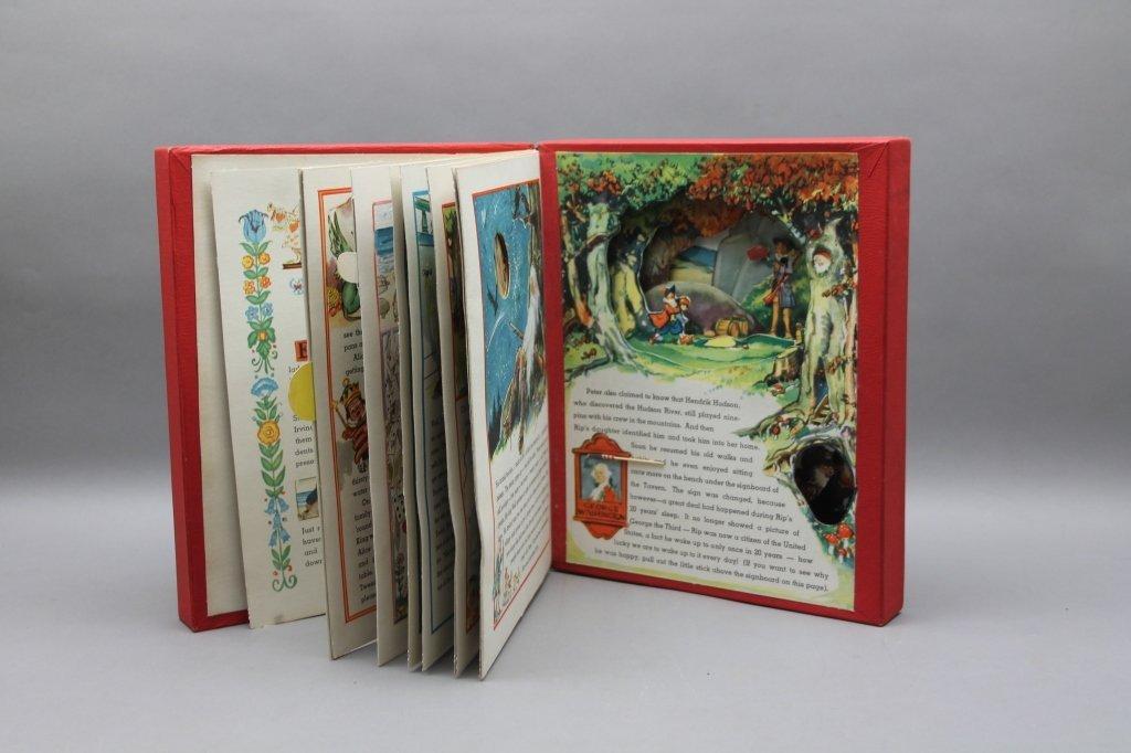 2 TONY SARG'S Books w/ TREASURE BOOK. (1942). - 3