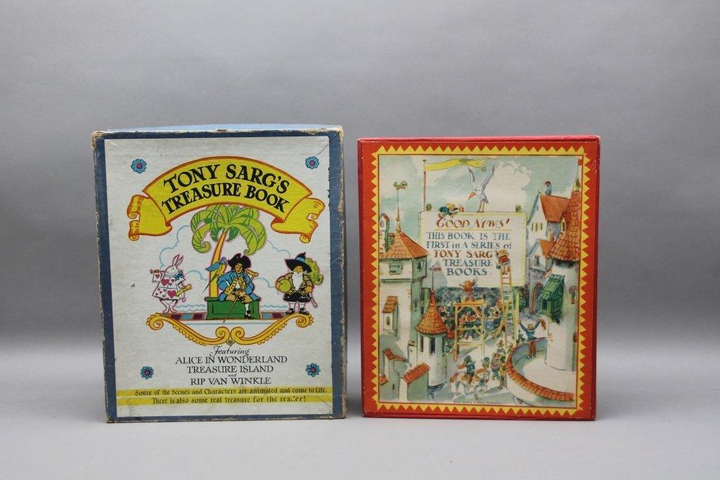 2 TONY SARG'S Books w/ TREASURE BOOK. (1942). - 4