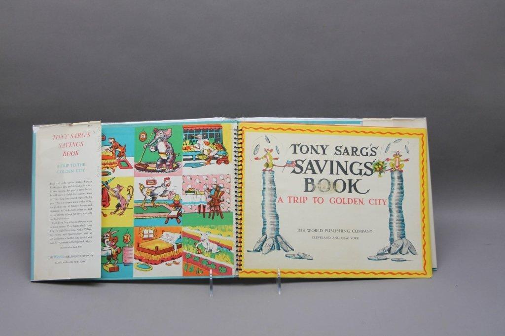 2 TONY SARG'S Books w/ TREASURE BOOK. (1942). - 5