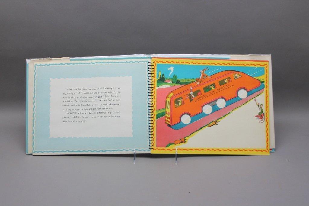 2 TONY SARG'S Books w/ TREASURE BOOK. (1942). - 6