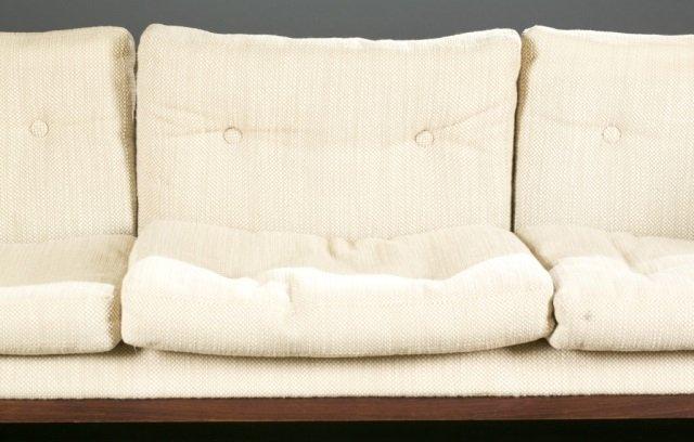Jydsk Mobelvaerk Mid-Century modern rosewood sofa. - 3