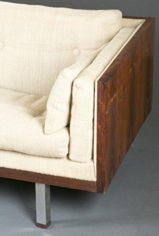 Jydsk Mobelvaerk Mid-Century modern rosewood sofa. - 4