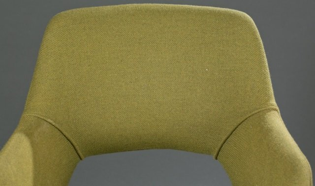 Mid-Century Modern fabric armchair. - 2
