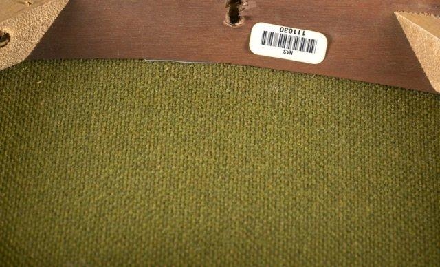 Mid-Century Modern fabric armchair. - 6