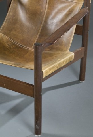 Michael Arnoult Mid-century sling armchair. - 2