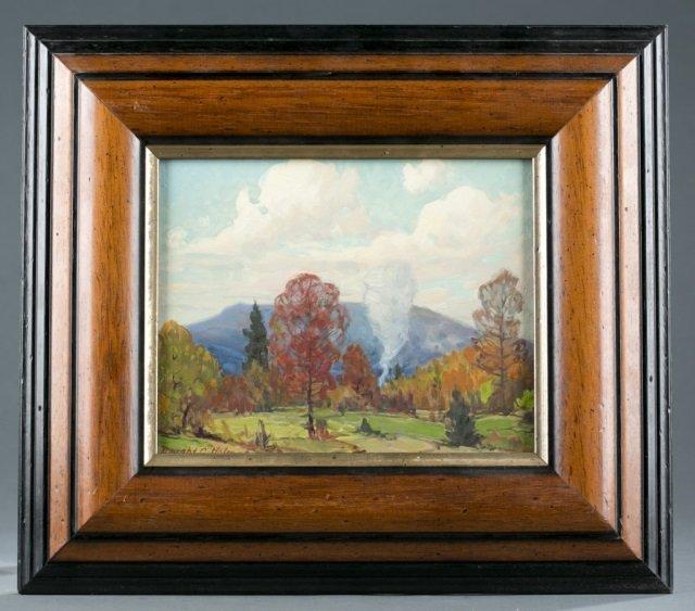 Dwight Holmes, forest landscape. 1960.