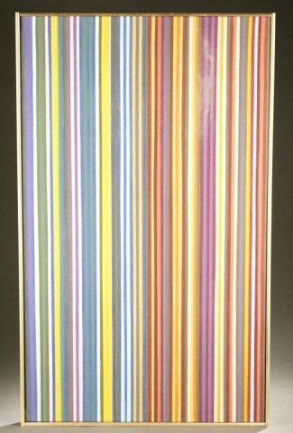 "Gene Davis, ""John Barleycorn,"" a/c, 1970."