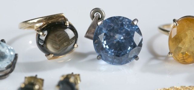 Group of assorted gemstone jewelry. - 3