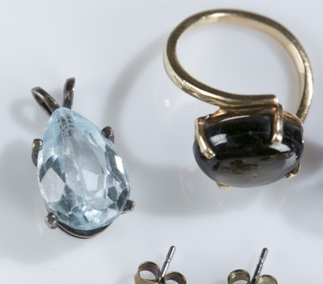Group of assorted gemstone jewelry. - 6