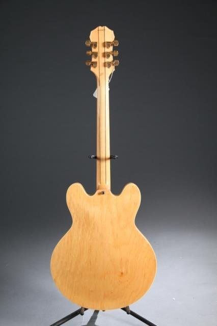 A Gibson Epiphone Sheraton hollow body electric gu - 4