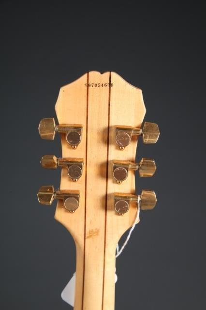 A Gibson Epiphone Sheraton hollow body electric gu - 5