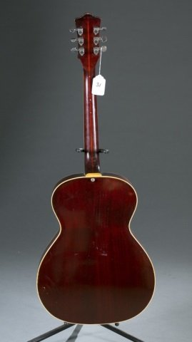 A Guild F47 acoustic guitar, Serial #: AK217. Body - 2