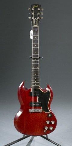 A Gibson SG electric guitar, Serial #: 229770. c.1