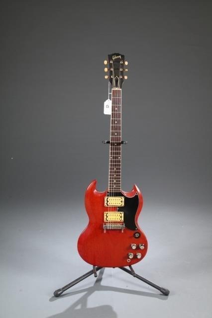A Gibson SG electric guitar, Serial #: 189898. c.1