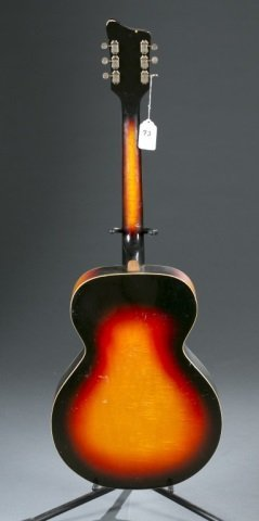 A National Deluxe acoustic guitar. c.1968 - 2
