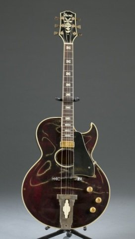 Ibanez Hollow body electric Jazz guitar. Serial #: