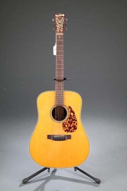 A Blueridge Br-160 acoustic guitar, Serial #: 6010