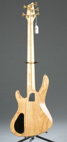 A Washburn USA Bantum bass, 5 string. Serial #: XB - 2