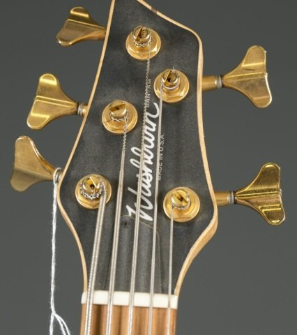 A Washburn USA Bantum bass, 5 string. Serial #: XB - 3