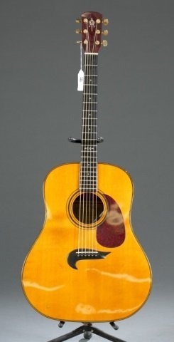 An Alvarez Yari DY-71 acoustic guitar, Serial #: 4
