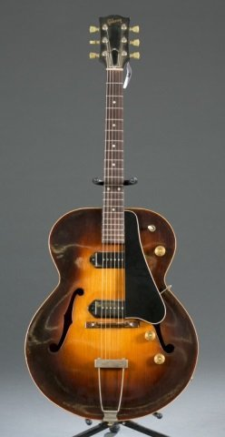 A Gibson ES-300 hollow body electric guitar 2-tone