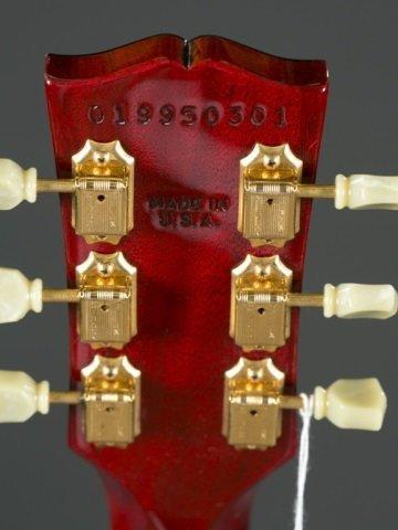 A Gibson Les Paul standard plus guitar, Serial #: - 5