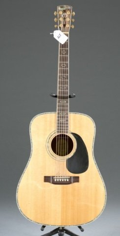 A Blueridge BR-70 acoustic guitar, Serial #: 40702