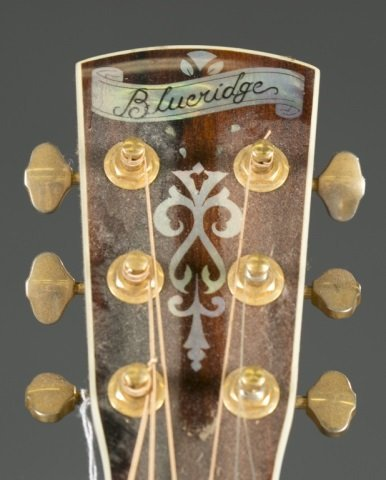 A Blueridge BR-70 acoustic guitar, Serial #: 40702 - 3