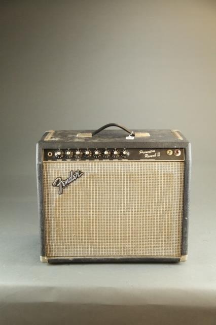 A Fender Princeton Reverb ll 12W amp, Serial #: F2