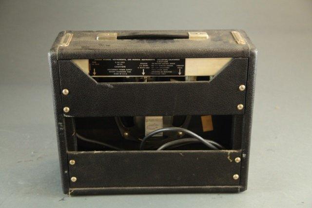 A vintage Fender Vibro CHamp amplifier. - 2