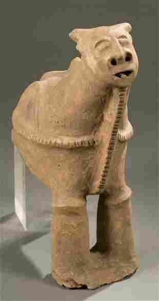 West African terracotta animal.