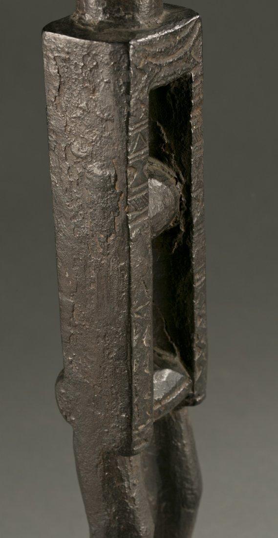 West African Attie standing wood figure, 20th c. - 5