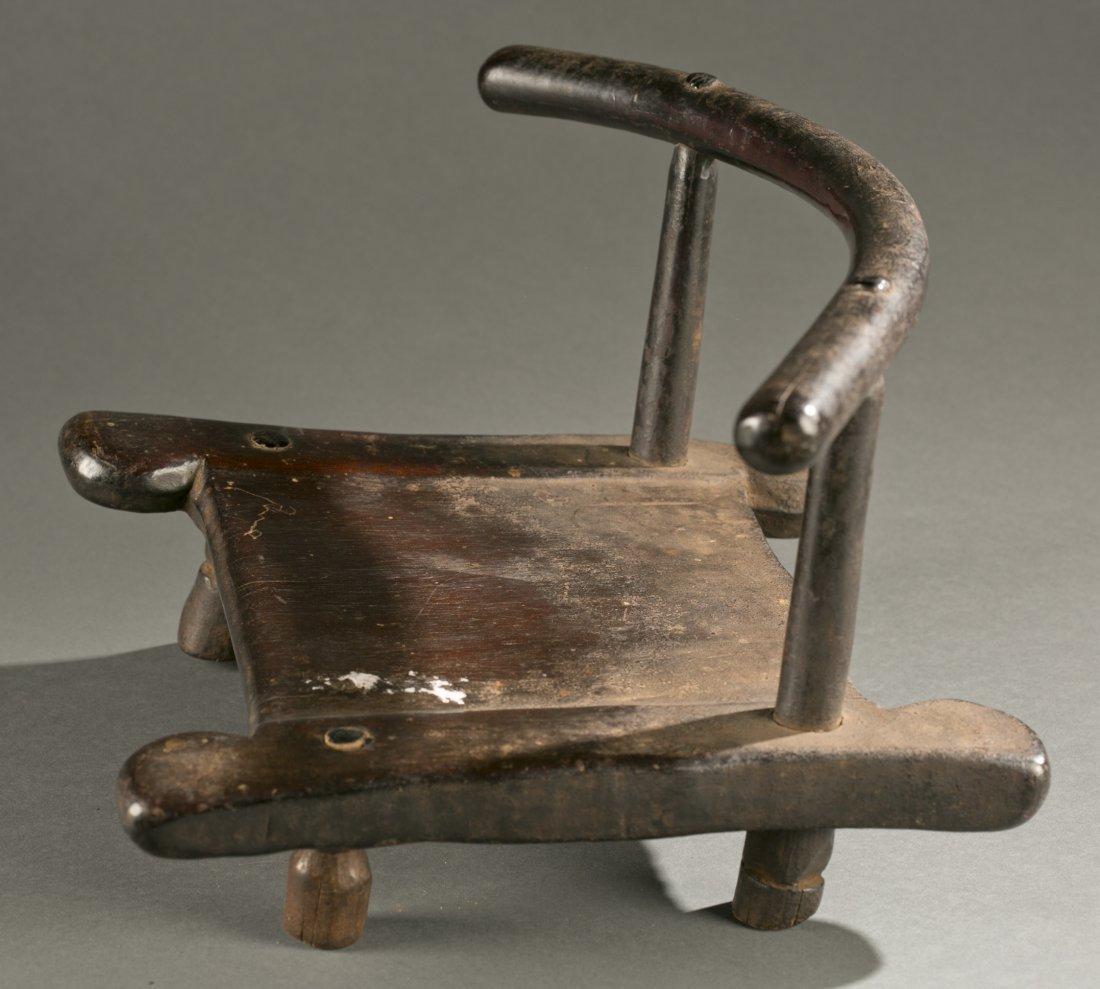 Liberian wooden chair, 20th c. - 2