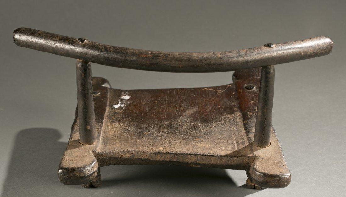 Liberian wooden chair, 20th c. - 3