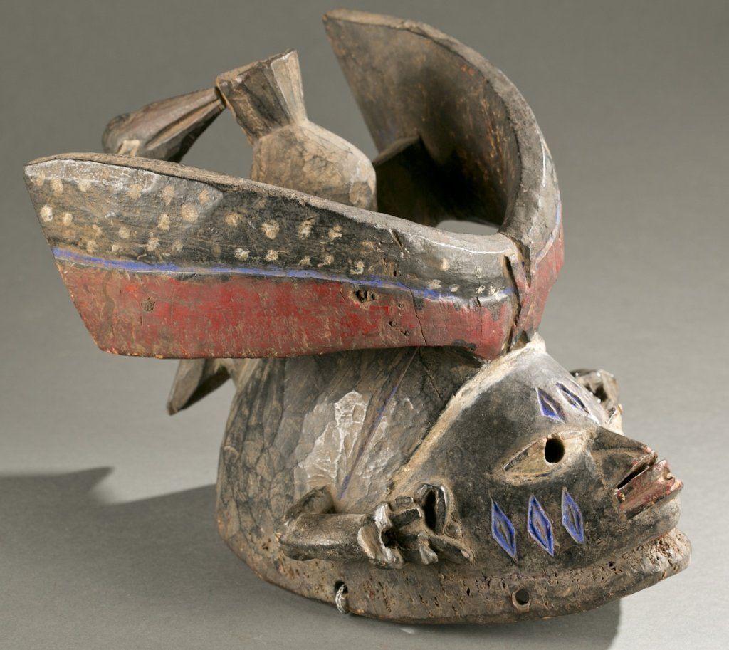 Yoruba Gelede society headdress, 20th c.