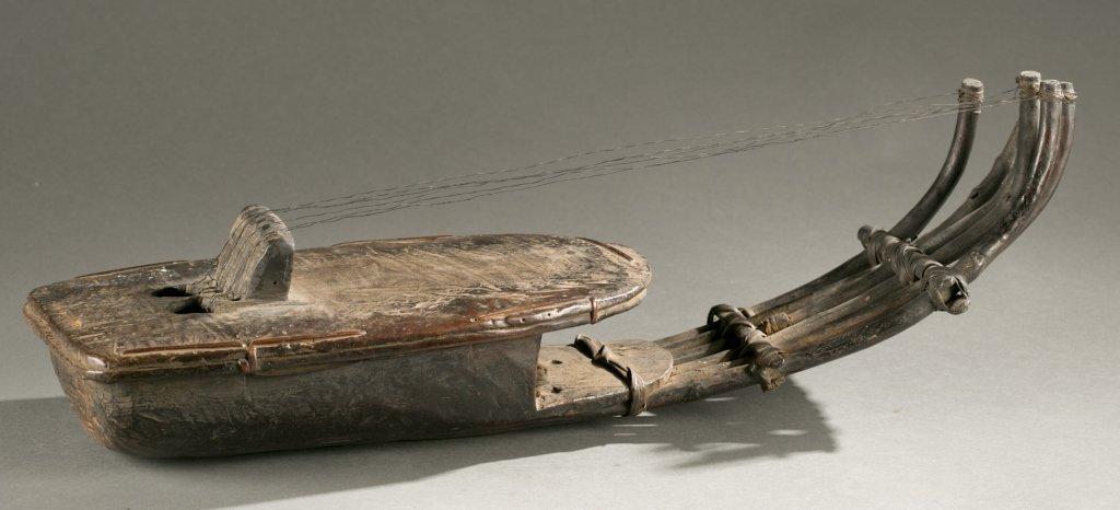 African harp, 20th century. - 7