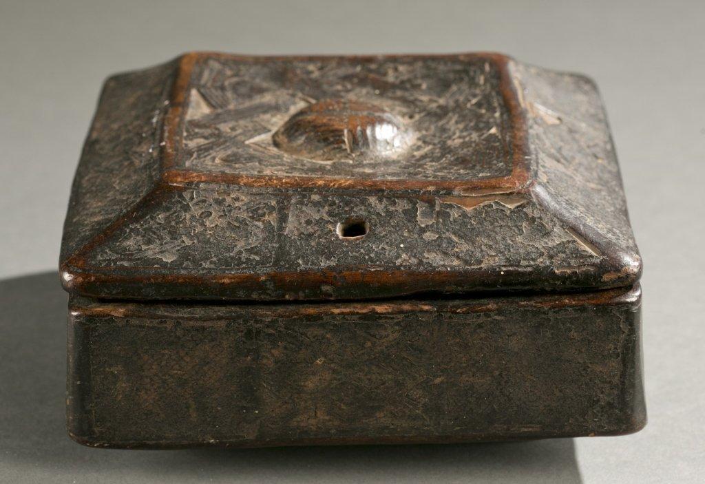 Kuba lidded box, 20th c.