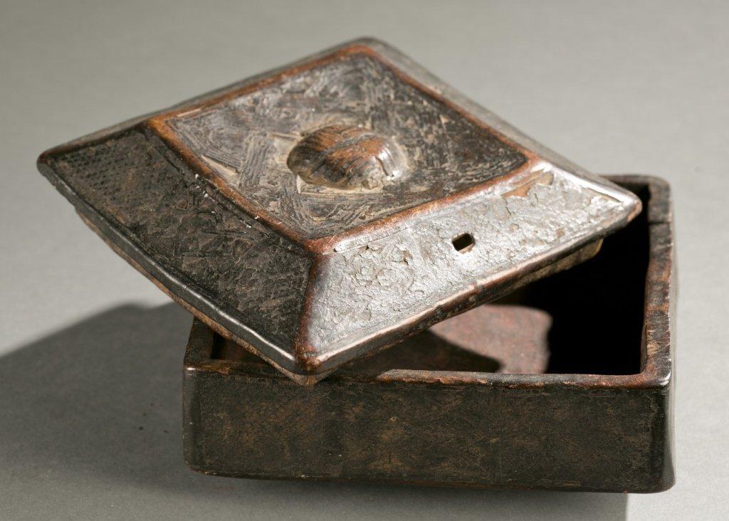 Kuba lidded box, 20th c. - 2