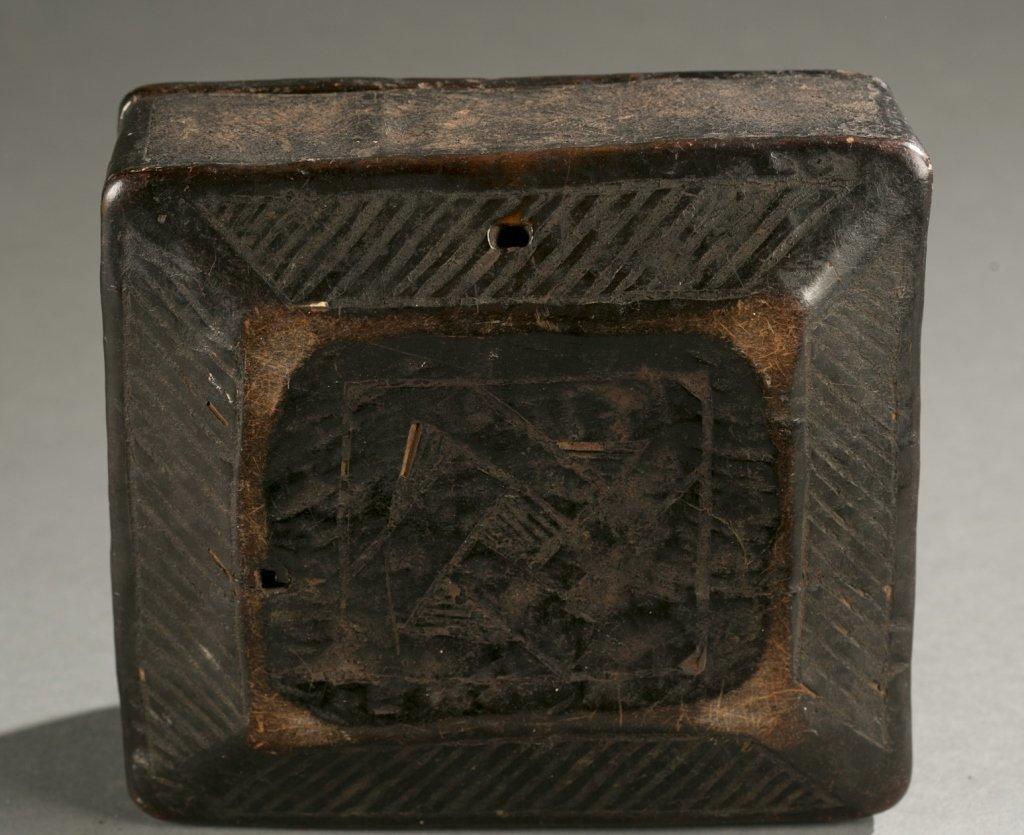 Kuba lidded box, 20th c. - 3