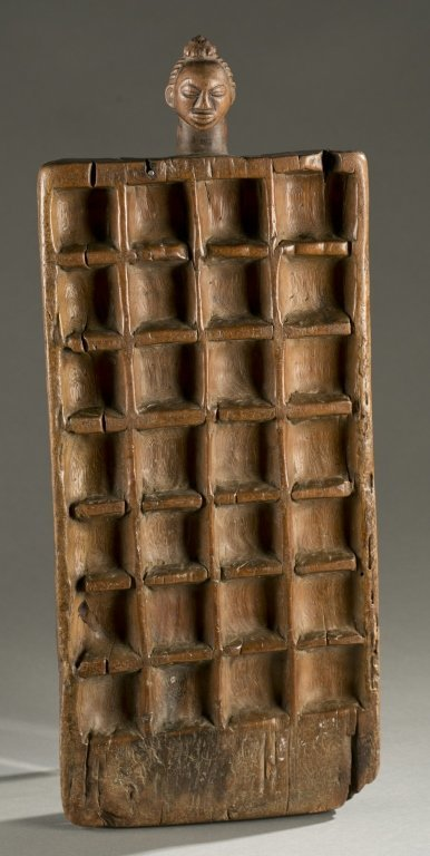 DRC rectangular mancala gameboard.