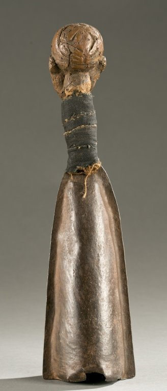 Cameroon Grasslands gong, 19th / 20th c. - 2