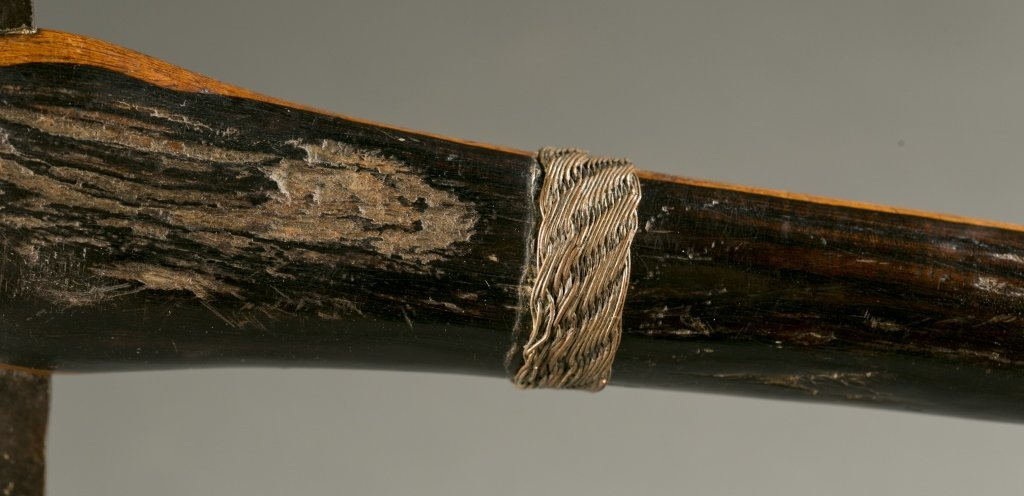 South African ax with elaborate blade, 20th cen. - 3