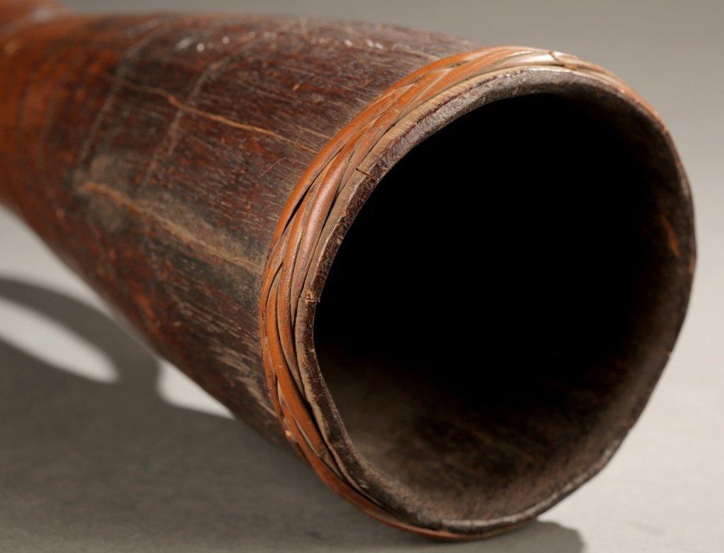 Sepik River handheld drum, first half 20th c. - 5