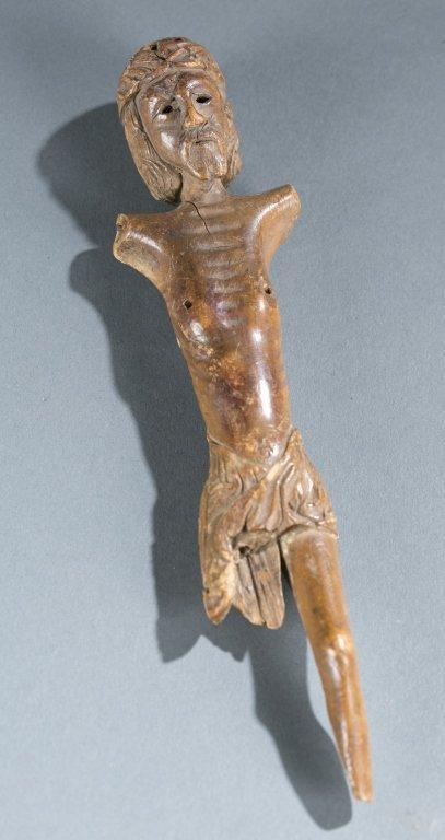 A Crucifix fragment.