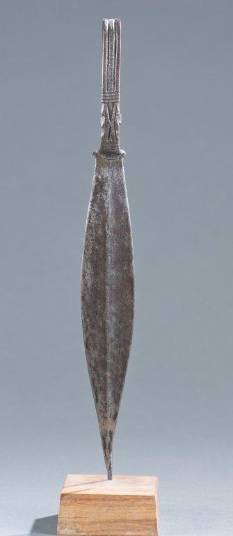An African knife.